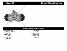Rear Right Drum Brake Wheel Cylinder Nissin for Honda Accord CRX Civic Del Sol