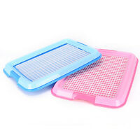Indoor Puppy Dog Pet House Potty Training Pee Pad Mat Tray Toilet Odorless Z.FR