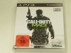 !!! PLAYSTATION PS3 SPIEL Call of Duty MW 3 USK18 TOP !!!