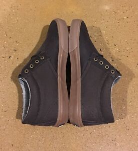Lakai MJ MID WT Espresso Size 6.5 Marc Johnson Pro Model Skate Shoes Deadstock