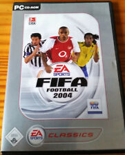 FIFA Football 2004 PC Spiel, Fußball, Soccer, EA Sports, Juventus, Bayern, Real