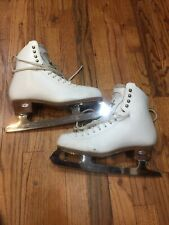 Riedell Motion Figure Skates size 6M with Professional Freestyle blades