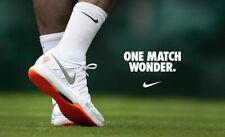 Roger's Notorious Banned Orange Soled Wimbledon 2013 Nike Air Zoom Vapor Grass