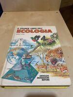 IL GRANDE LIBRO DELL'ECOLOGIA GIORGIO PANINI ARNOLDO MONDADORI - 1990 VINTAGE