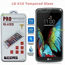 9H Premium Real Tempered Glass Film Screen Protector For LG K10