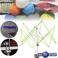 Knitting Umbrella Swift Wool Yarn String Winder Holder Hanks Skeins Line New