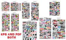JDM VECTOR AND PDF IMAGE SET (VOLUMES 1-10)