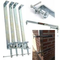 BRICKLAYERS Profile Clamp 300mm X 4pcs Brickies Pro Clamps Zinc Plated Steel