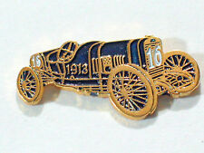 1913 Peugeot Auto Race Car Pin Indy 500 Race Car Pin Jules Goux Driver , (**)