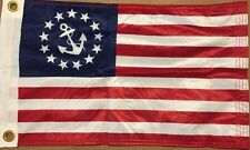 Ensign 3x5 ft knitted Polyester Dyed Usa Flag Anchor