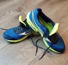 Mizuno Mens Wave Catalyst Blue Yellow 11.5 running shoe