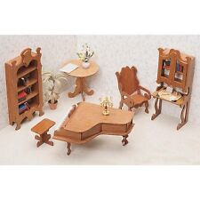 Greenleaf Library Furniture Kit Set - 1 Inch Scale