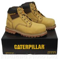 CAT Caterpillar Spiro Safety Boots S3 Waterproof Steel Toe Mens Work Shoes