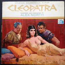 Alex North CLEOPATRA LP Film Soundtrack OST Richard Burton Elizabeth Taylor 1963