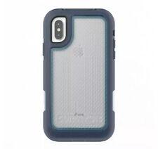 Griffin Survivor Extreme Clip holster Case for Apple iPhone X/XS Blue/Light Blue