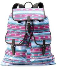 NEW $60 CANDIES RACHEL AZTEC PRINT BUCKLE CLOSE CARGO POCKET BACKPACK