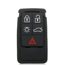1Pc 5 Button Replacement Remote Keys Fob Rubber Pad For Volvo S60 S80 XC70 XC90