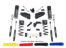 "Zone D68N 5.5"" Lift Kit Gas Motor w/Nitro Shocks for 2014-2018 Dodge Ram 2500"
