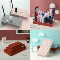 Silicone Lipgloss Holder, Upgraded Makeup Organizer for Makeup Brushes Lipstick