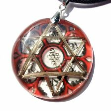 Ohm Mani Padme Hum Hexagram Metayantra Pranic Device, ORGONITE