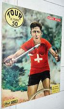BUT ET CLUB 1950 CYCLISME SUPPLEMENT PRESENTATION TOUR DE FRANCE PHOTOS COUREURS