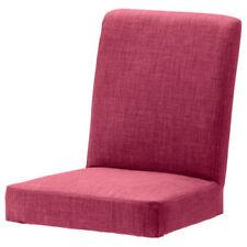 Chaises roses en tissu pour le bureau