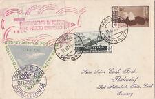 Raketenpost-Brief Briefmarken Italien 1934 Esperimenti Di Posta Thälendorf