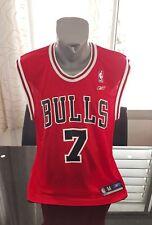 CAMISETA SHIRT VINTAGE NBA REEBOK CHICAGO BULLS N°7 BEN GORDON TALLA M