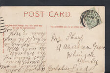 Family History Postcard - Sharp - 9 Aberdeen Grove, Leeds, Yorkshire  RF851