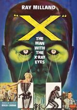 X: The Man With the X-Ray Eyes [New DVD]