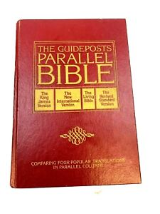The Guideposts Parallel Bible Hardcover KJV NIV TLB RSV 1983