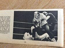 q2-a ephemera 1960s picture wrestler tarus bulba peru al hayes judo