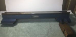 """VINTAGE CRAFTSMAN 6"""" METAL LATHE NO. 101.07300 BED WITH RISERS"""