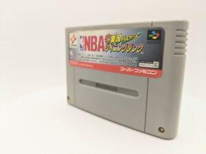 "NBA Jikkyou Basket: Winning Dunk Nintendo SENS Super Famicom ""SFC"" original 1995"