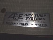 DRY SUMP Sticker / Decal  Automotive  ORIGINAL old stock