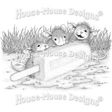 New Stampendous Rubber Stamp cling House Mouse Cool Treat free Usa ship