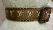 "Dog Collar 8.5""-12"" neck size. FREE FABRIC"