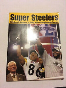 SUPER STEELERS BOOK - SUPERBOWL XL CHAMPIONS - PITTSBURGH STEELERS - WARD/BETTIS