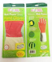 6 Pairs - Green Leaf Premium Multi Purpose Latex Household Hand Gloves 12'
