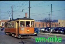 #43 - trolley - Cincinnati Street Railways car #2459 in 1950 Duplicate slide