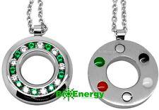 Quantum Scalar Energy Pendant germanio potente cadena collar balance de energía