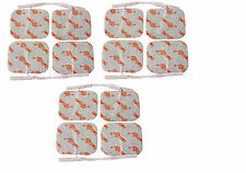 12 Square Tens Electrode Pads Reusable TENS Electrodes For Tens Machines