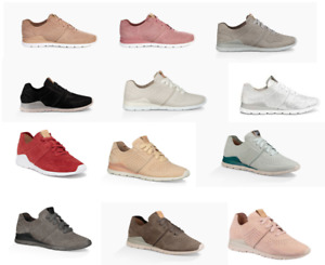 Ugg Tye Womens Casual Leather Sneakers Lightweight Walking Shoes Mlt Colors & Sz