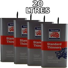 20L Standard Cellulose Thinners 20 Litres Gun Cleaner Paint Primer 4 x 5L