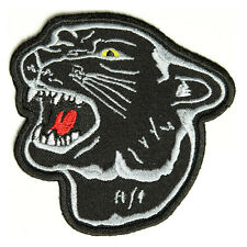 Embroidered Jaguar Head Sew or Iron on Patch Biker Patch