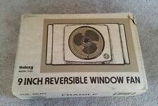 Vintage Galaxy Window Fan 2 speed Reversible Works Great Model 2122 Tested
