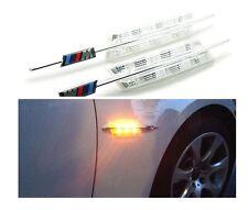 2X LED Clear Side Marker Lights Turn Signal For BMW E90 E91 E92 E93 E81 E88 E60