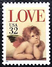 1995 Scott #2957 - 32¢ - LOVE, CHERUB - Single Stamp - Mint NH