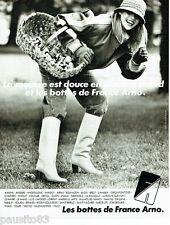 PUBLICITE ADVERTISING 115  1978  FRANCE ARNO  les bottes