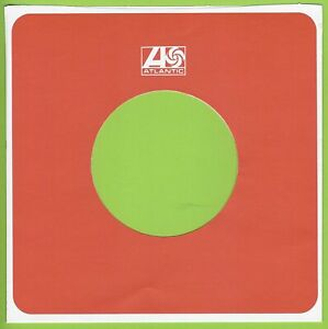 ATLANTIC (orange) REPRODUCTION RECORD COMPANY SLEEVES - (pack of 10)